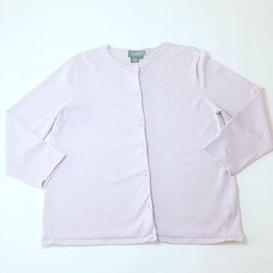 Ralph Lauren lavender sweater